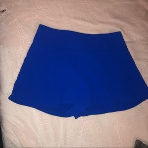 Express Royal Blue Skort